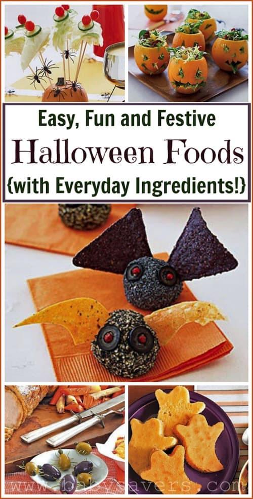 Easy Halloween Party Food Ideas  Halloween Party Food Ideas Easy Halloween Recipes