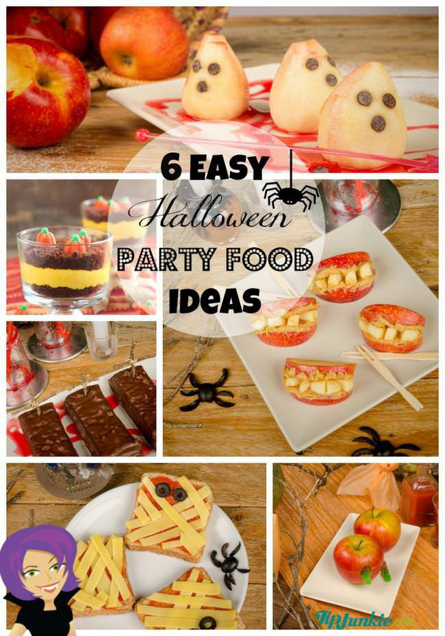 Easy Halloween Party Food Ideas  6 Easy Halloween Party Food Ideas & HOW TO MAKE THEM