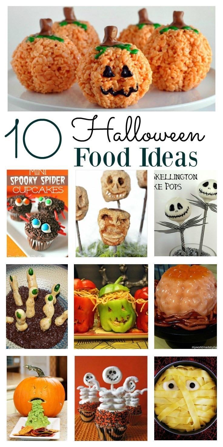 Easy Halloween Party Food Ideas  Halloween Food Ideas