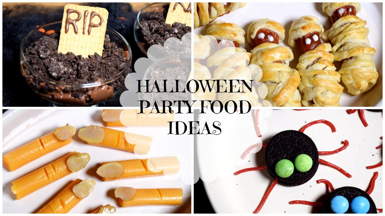 Easy Halloween Party Food Ideas  Easy & Quick Halloween Party Food Ideas