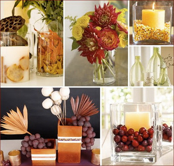 Easy Thanksgiving Table Decorations  Easy and Elegant Thanksgiving Handmade Centerpieces