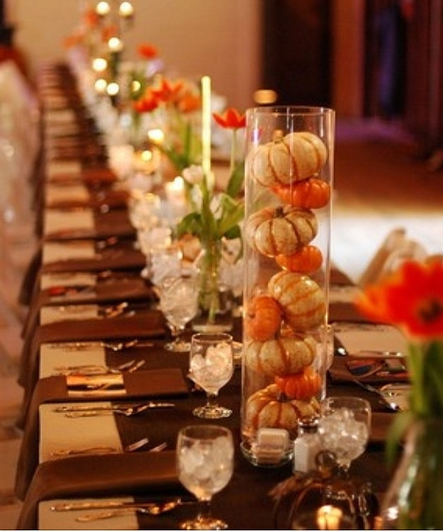 Easy Thanksgiving Table Decorations  Easy Thanksgiving Decorating Ideas Home Bunch Interior