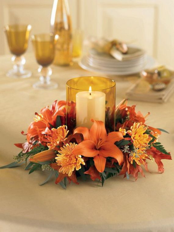 Easy Thanksgiving Table Decorations  Easy Thanksgiving Table Decoration Thanksgiving