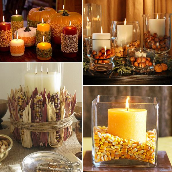 Easy Thanksgiving Table Decorations  25 best ideas about Thanksgiving centerpieces on
