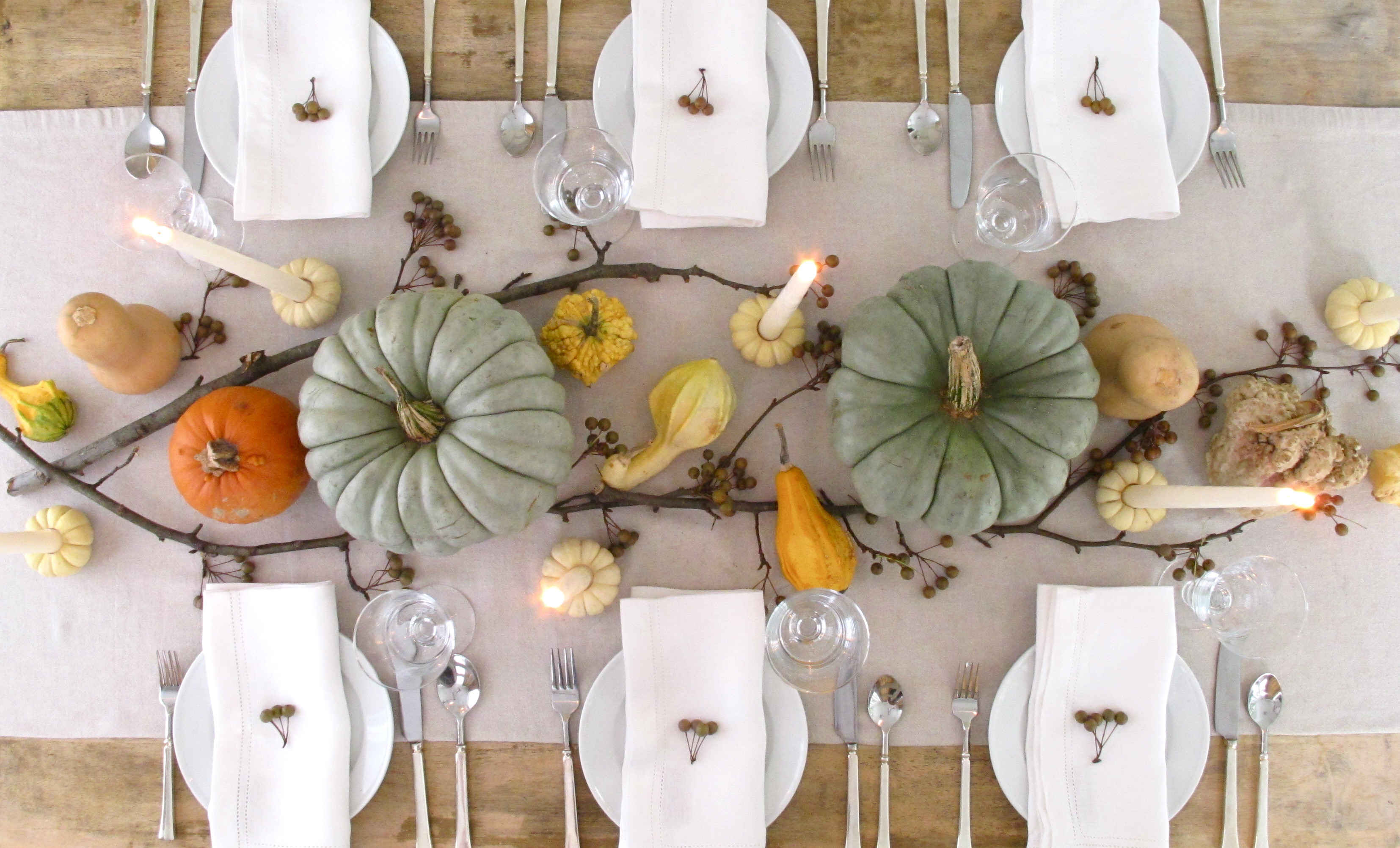 Easy Thanksgiving Table Decorations  Our favorite Thanksgiving Day table settings TODAY
