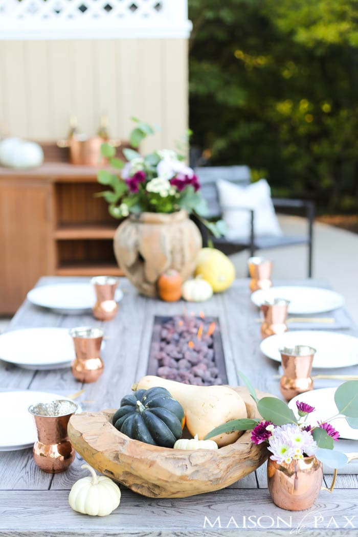 Easy Thanksgiving Table Decorations  Thanksgiving Table Decorations and Ideas Maison de Pax