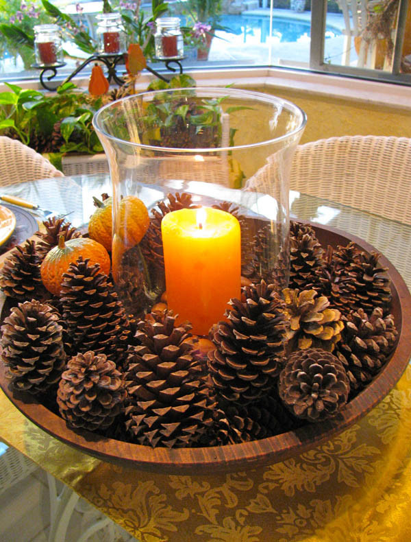 Easy Thanksgiving Table Decorations  31 Stylish Thanksgiving Table Decor Ideas Easyday