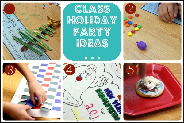 Elementary School Christmas Party Ideas  Elementary School Class Holiday Party
