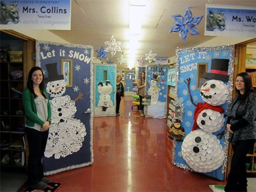 Elementary School Christmas Party Ideas  ideas to decorate school hallway for christmas