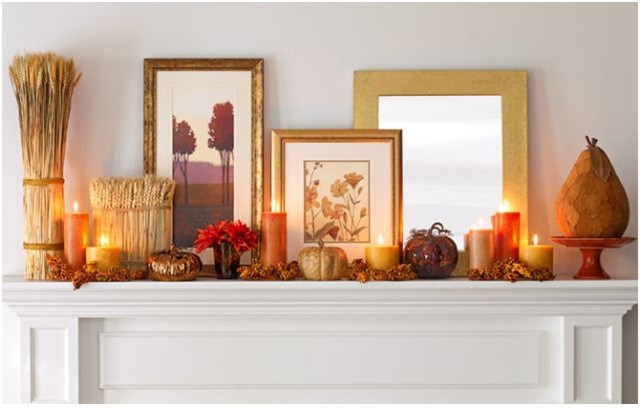 Fall Decor For Fireplace Mantel  Transitioning Your Home For Fall