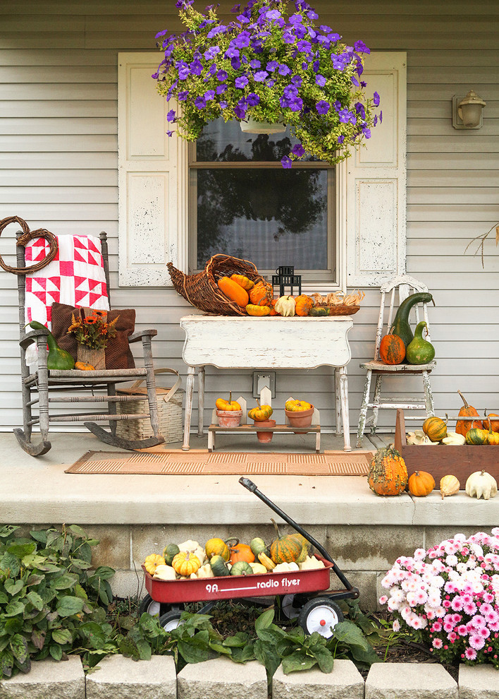 Fall Decorations Porch  120 Fall Porch Decorating Ideas Shelterness