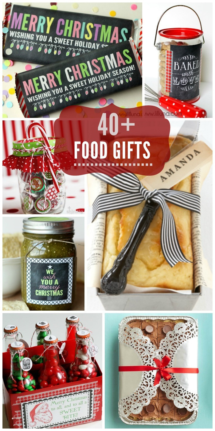 Family Christmas Gift Ideas  Food Gift Ideas