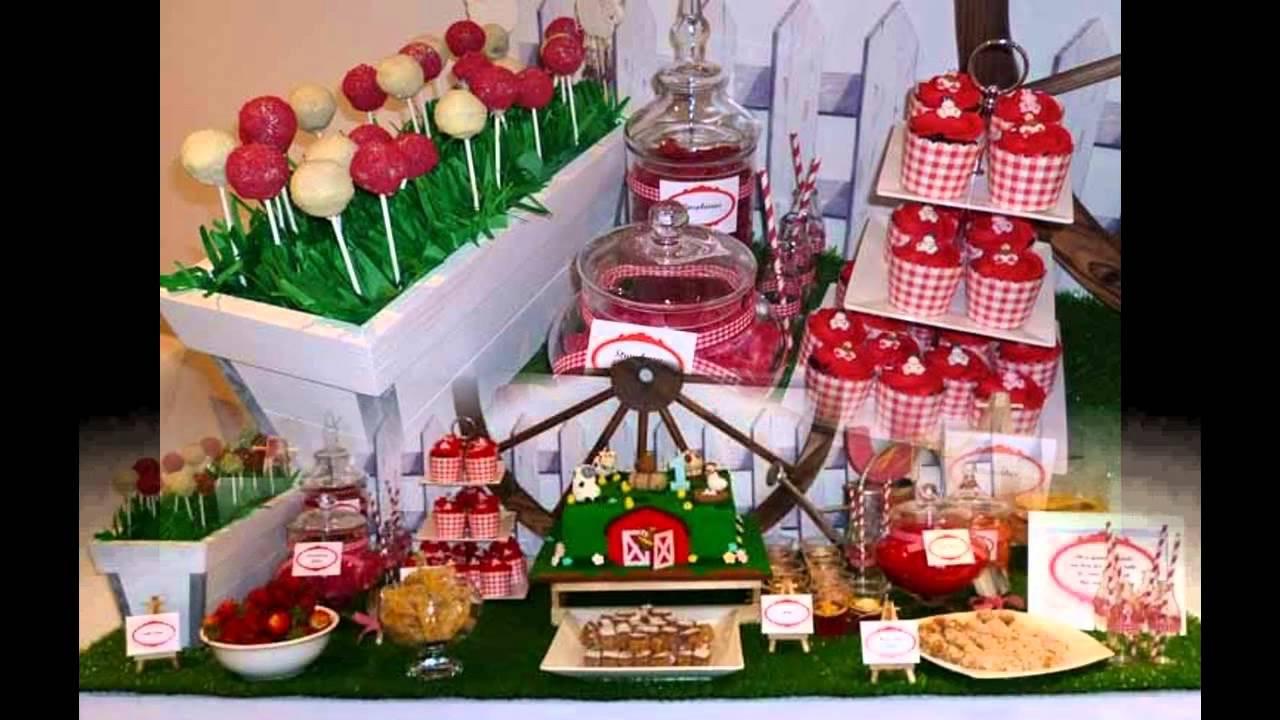 Farm Birthday Party Decorations  Great Farm birthday party decorations ideas