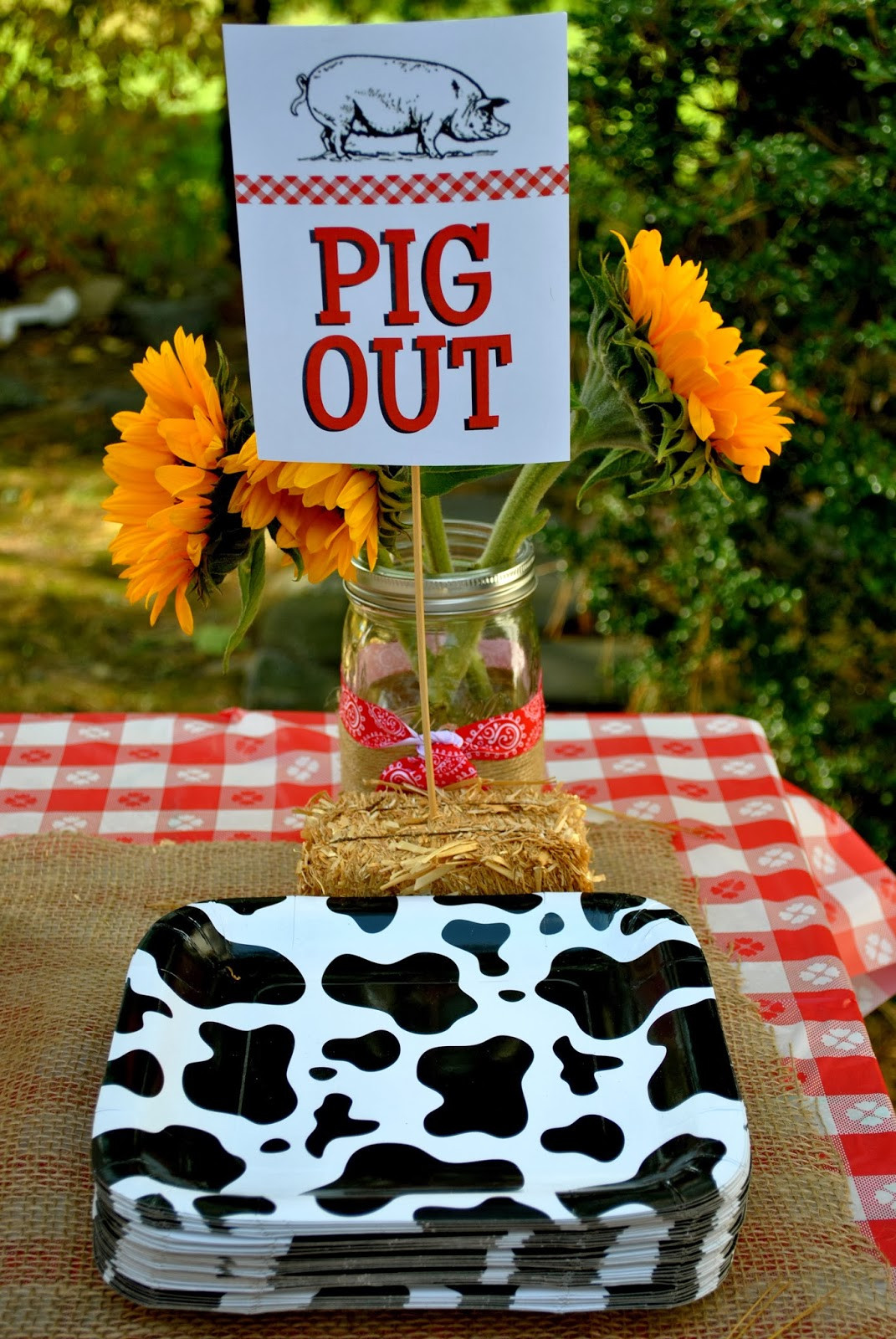 Farm Birthday Party Decorations  shabou Harper s Barnyard Bash