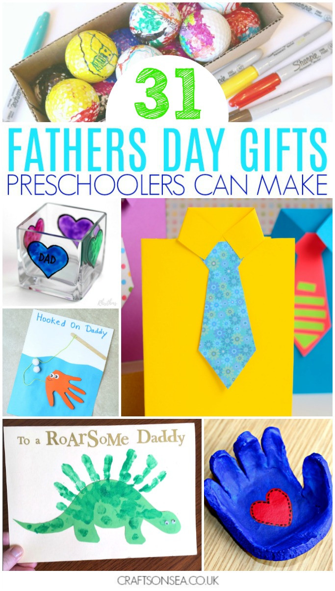 Father'S Day Gift Ideas For Preschoolers To Make  30 Fathers Day Gifts Preschoolers Can Make Crafts on Sea