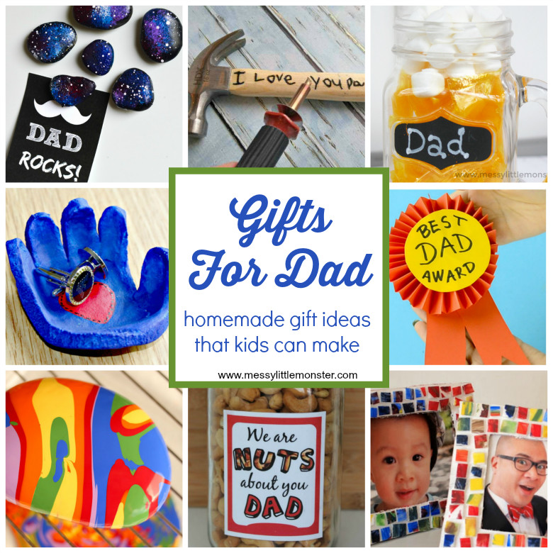 Father'S Day Gift Ideas For Preschoolers To Make  Gifts For Dad From Kids Homemade Gift Ideas That Kids