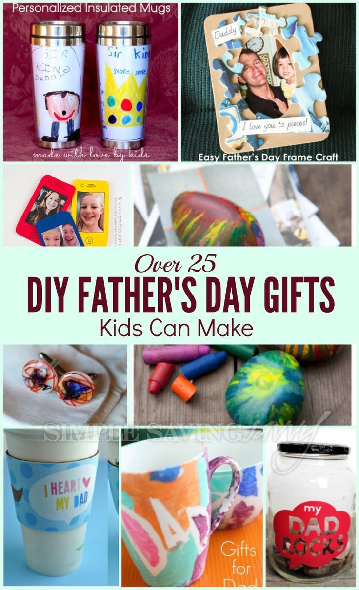 Father'S Day Gift Ideas For Preschoolers To Make  Over 25 DIY Father s Day Gifts Kids Can Make