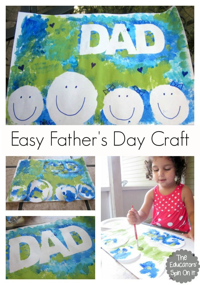Father'S Day Gift Ideas For Preschoolers To Make  Easy Father s Day Craft for Kids to Make