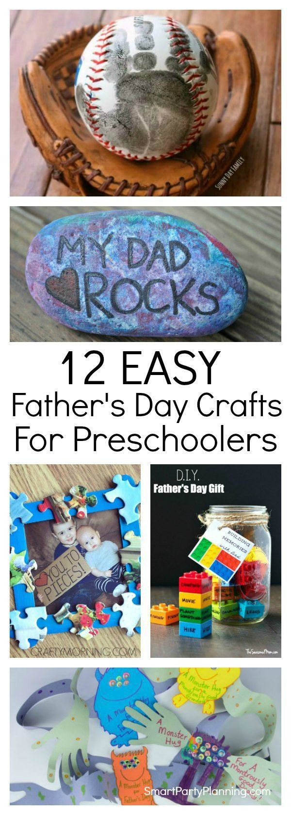 Father'S Day Gift Ideas For Preschoolers To Make  Best 25 Dad crafts ideas on Pinterest