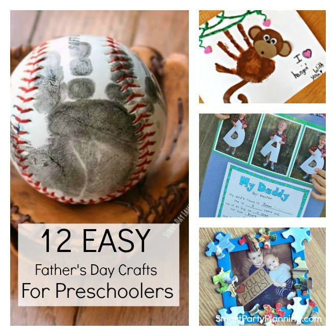 Father'S Day Gift Ideas For Preschoolers To Make  12 Easy Father s Day Crafts For Preschoolers To Make