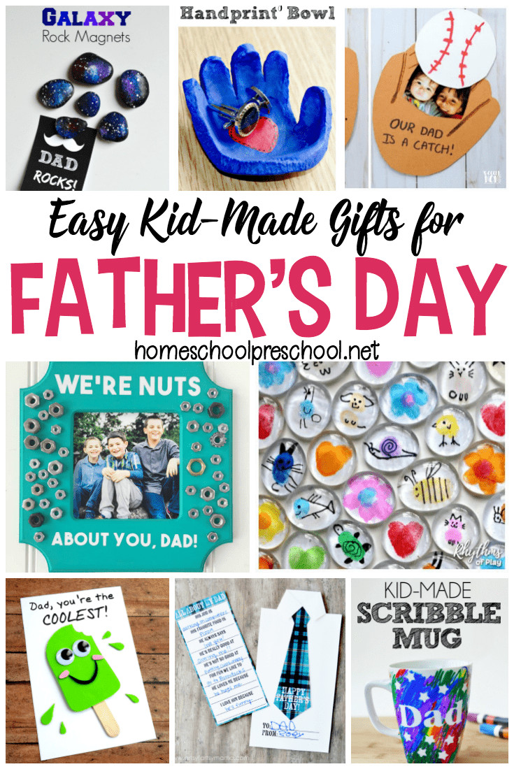 Father'S Day Gift Ideas For Preschoolers To Make  16 Simple Fathers Day Crafts Kids Can Make for Dad