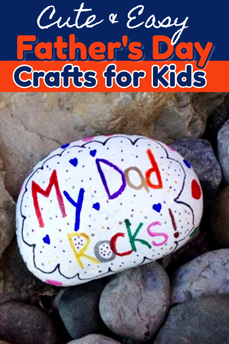 Father'S Day Gift Ideas For Preschoolers To Make  54 Easy DIY Father s Day Gifts From Kids and Fathers Day