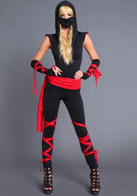 Female Ninja Costume DIY  Best 25 Ninja costumes ideas on Pinterest