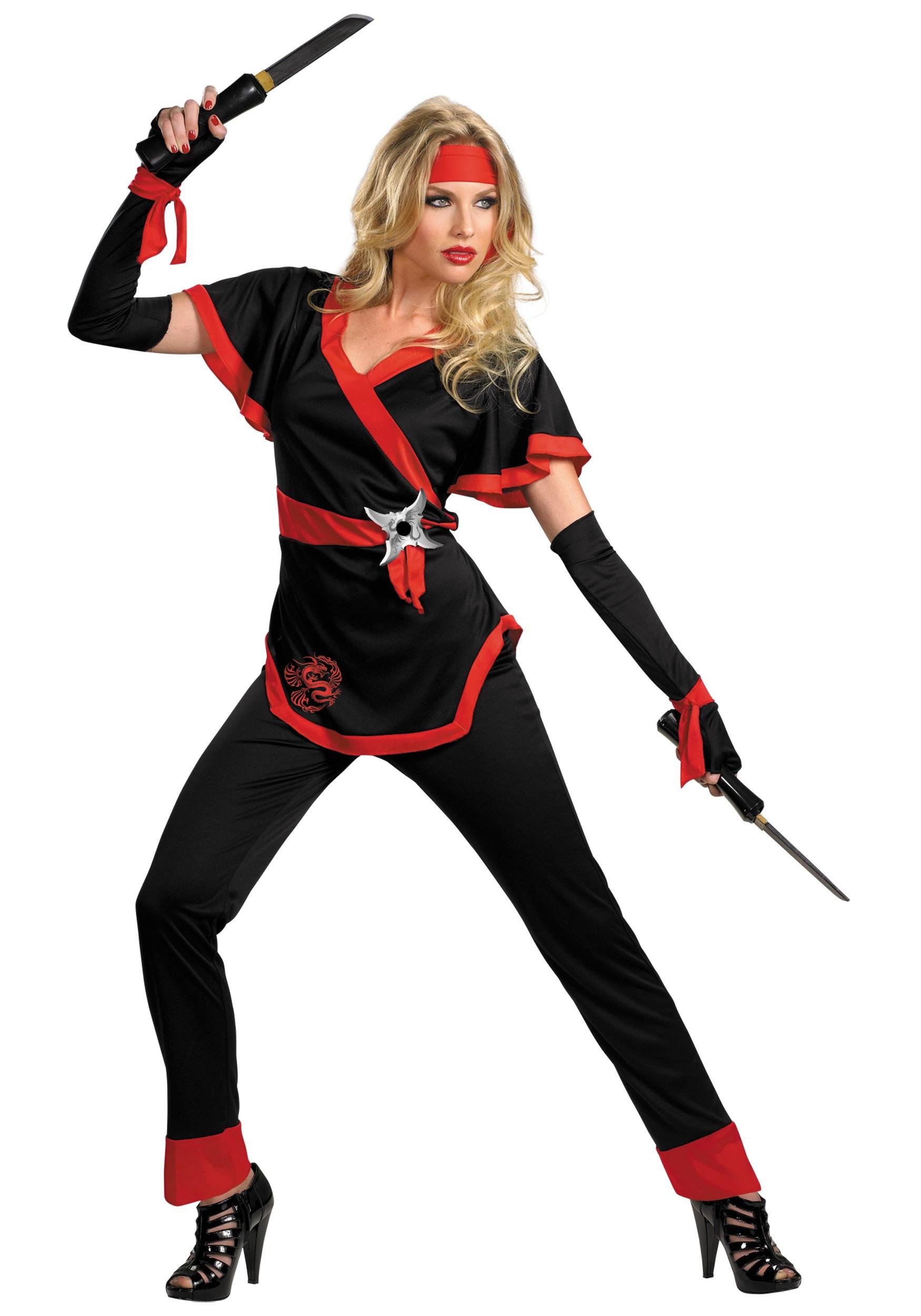 Female Ninja Costume DIY  Dragon Lady Ninja Costume