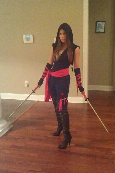 Female Ninja Costume DIY  Homemade Ninja Costume Ideas CostumeModels