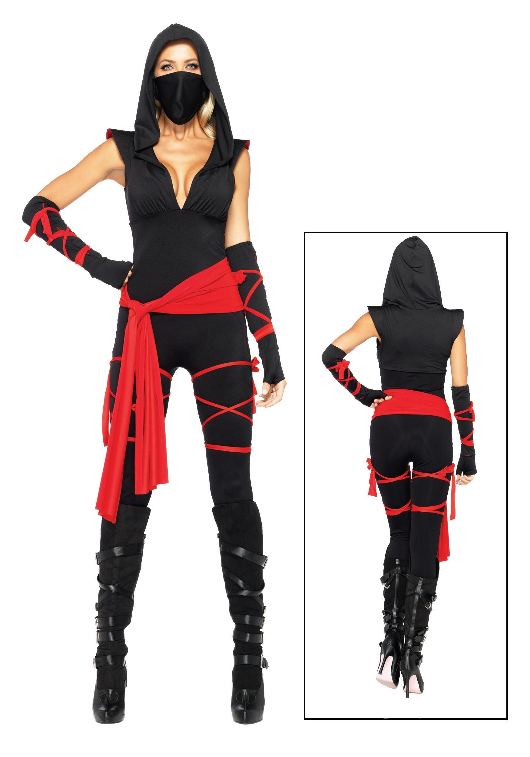 Female Ninja Costume DIY  y Deadly Ninja Costume