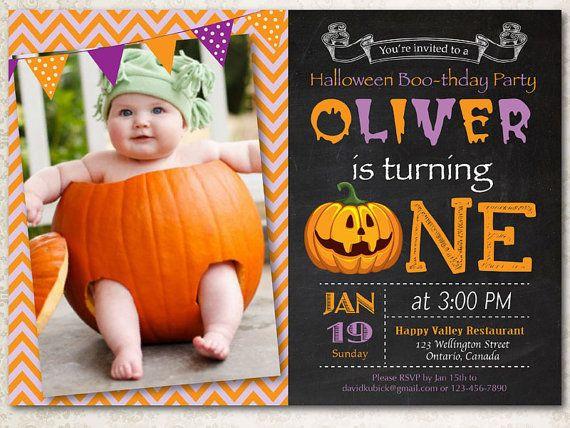 First Birthday Halloween Party Ideas  13 best Jax s Halloween themed first birthday images on