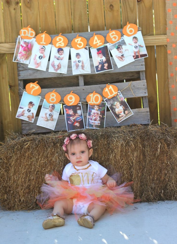 First Birthday Halloween Party Ideas  Best 25 Fall 1st birthdays ideas on Pinterest