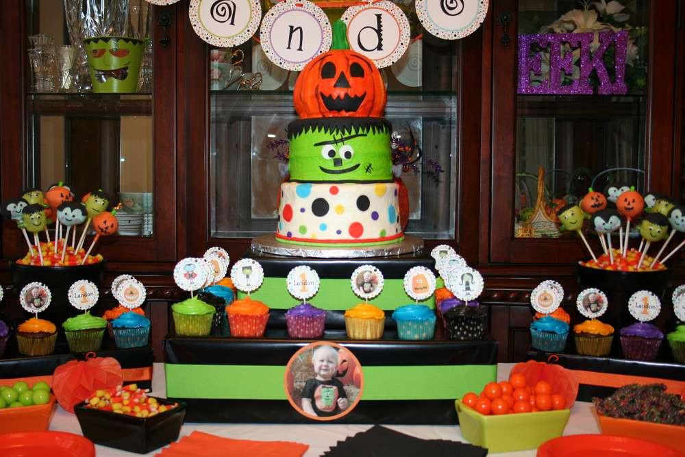 First Birthday Halloween Party Ideas  Halloween First Birthday Halloween Party Ideas