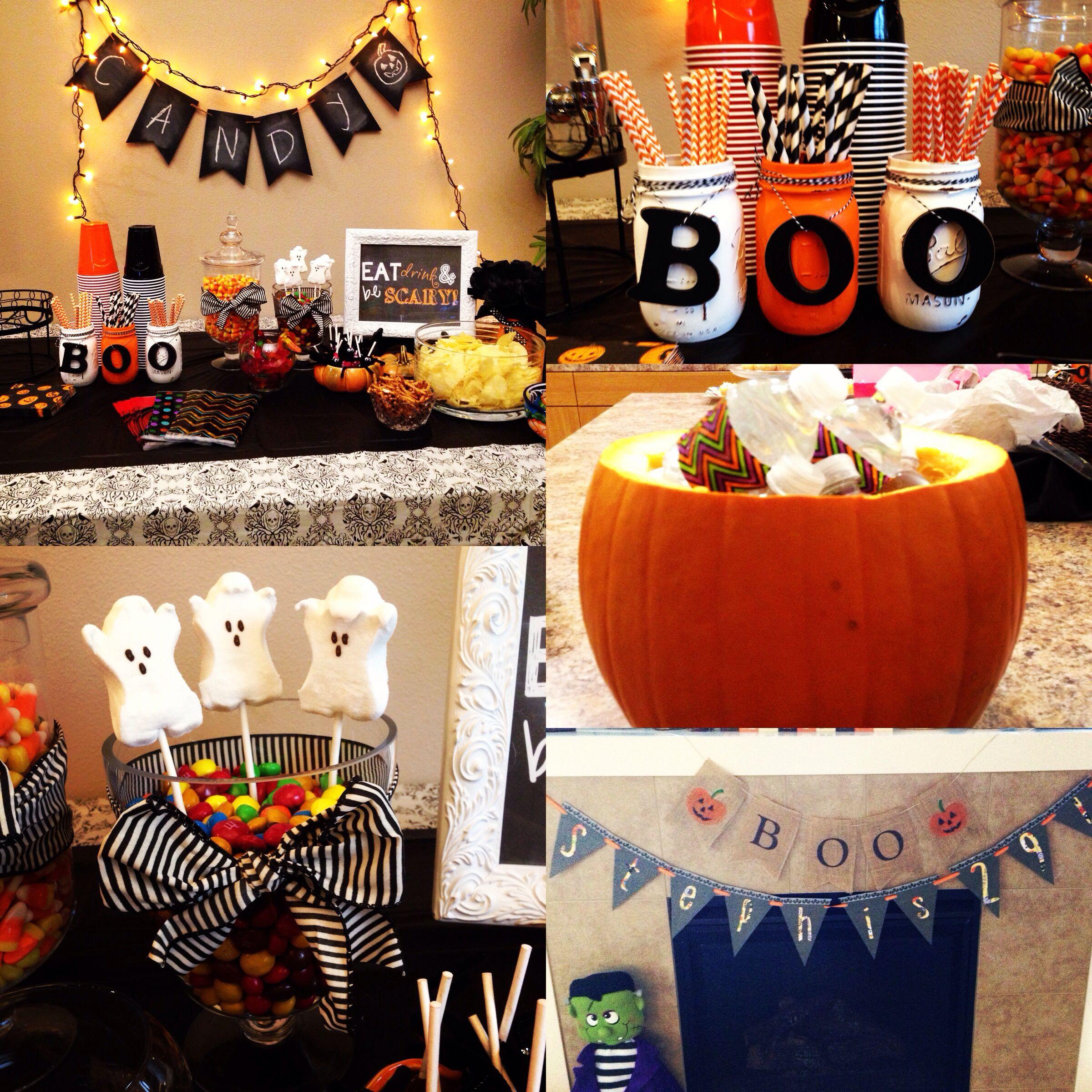 First Birthday Halloween Party Ideas  Halloween themed birthday party decor