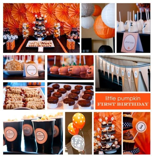 First Birthday Halloween Party Ideas  25 best ideas about Halloween First Birthday on Pinterest