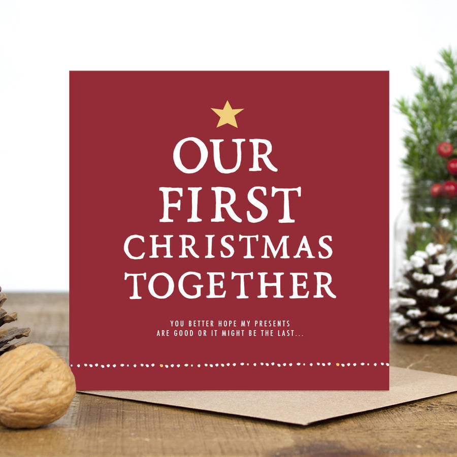 First Christmas Together Gift Ideas  5 Romantic Christmas Letter Ideas for Boyfriend