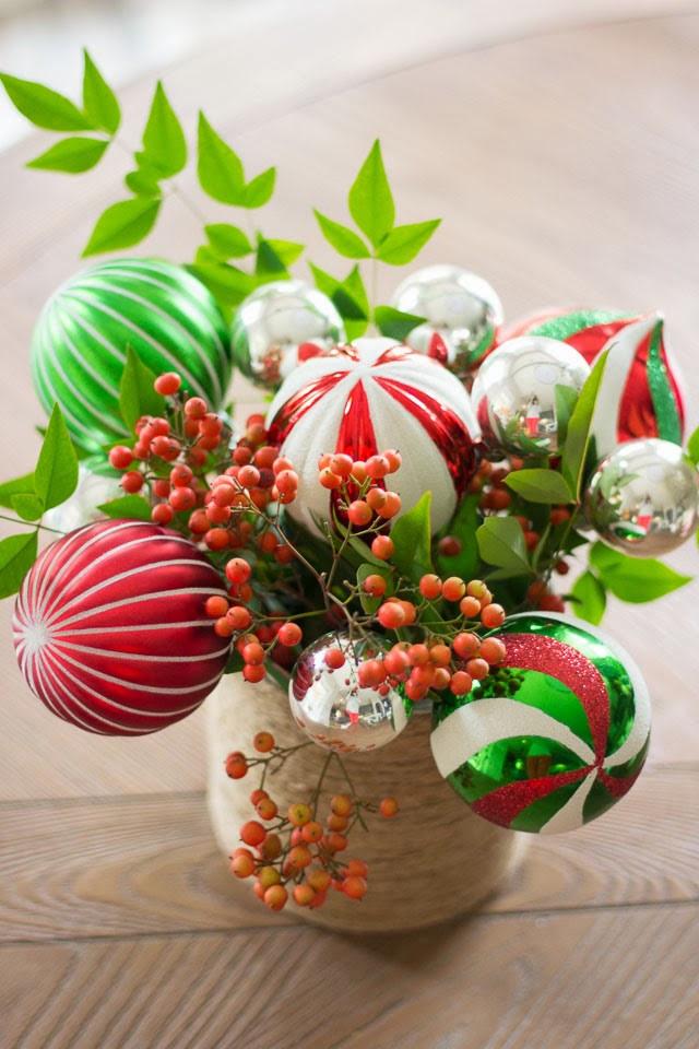 Flower Christmas Ornaments  Ornament Bouquet