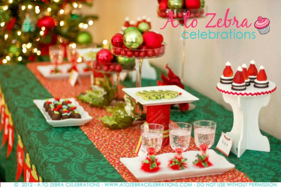 Food Ideas For A Christmas Party  Easy Christmas Party Ideas
