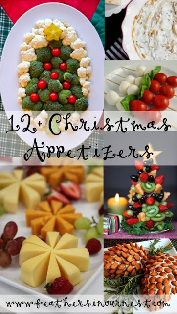 Food Ideas For A Christmas Party  12 Christmas Party Food Ideas Feathers in Our Nest