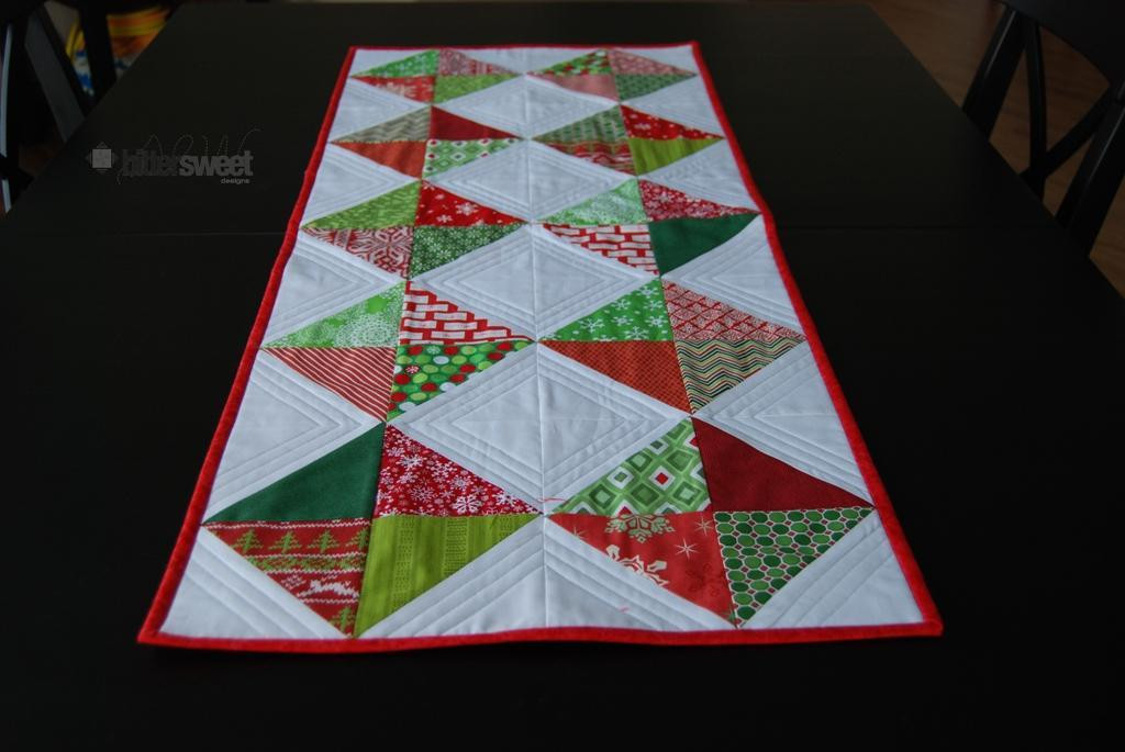 Free Christmas Table Runner Patterns  10 FREE Table Runner Quilt Patterns You ll Love