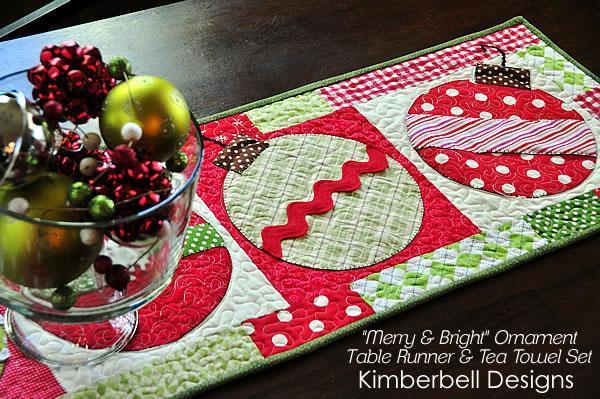 Free Christmas Table Runner Patterns  8 Christmas Table Runner Patterns That Stitch Up Quick