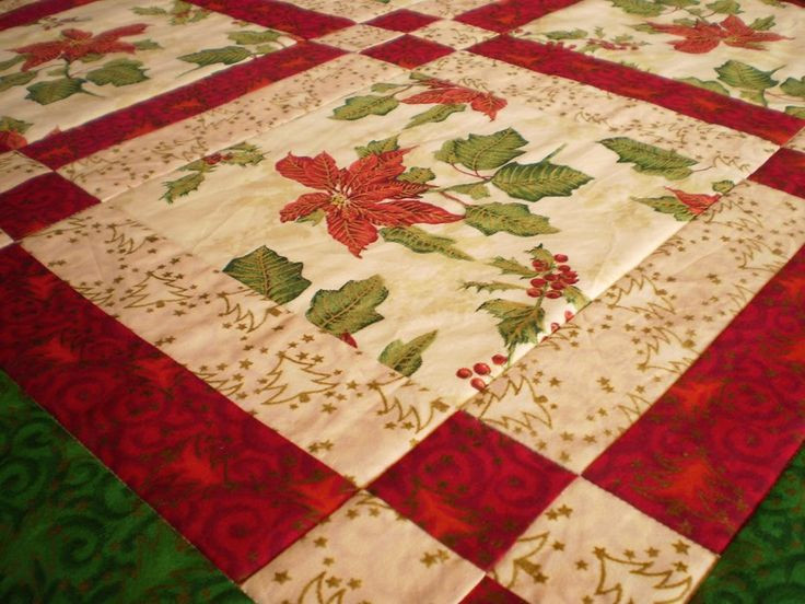 Free Christmas Table Runner Patterns  Free Christmas Table Runner Patterns