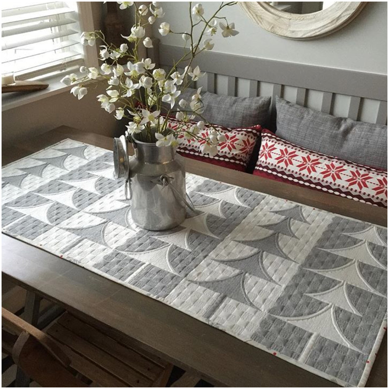 Free Christmas Table Runner Patterns  Sew Kind Wonderful Free Sew Kind of Wonderful Patterns
