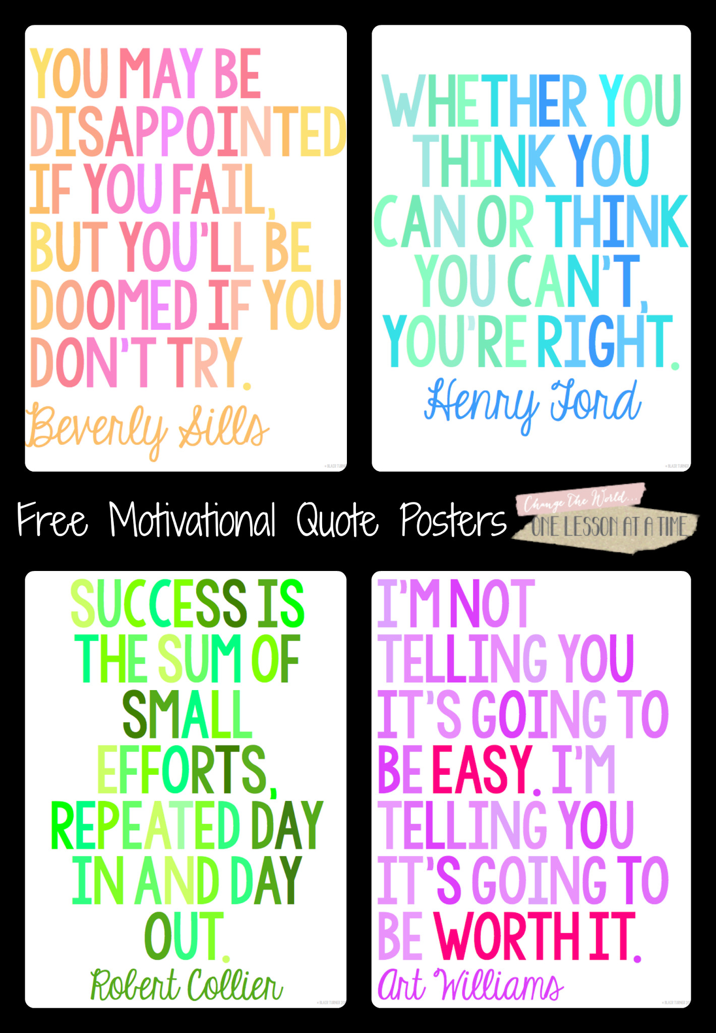 Free Motivational Quotes  Motivational Quotes for State Testing Free Posters