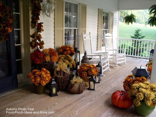 Front Porch Fall Decorating Pictures  Autumn Decorating Ideas You Will Enjoy