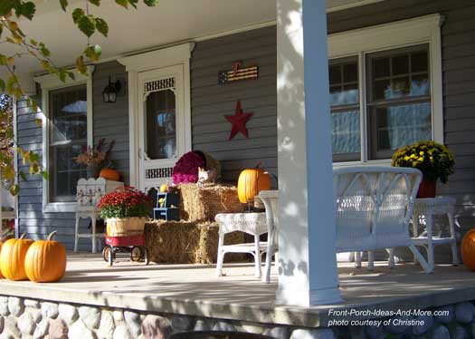 Front Porch Fall Decorating Pictures  Fun Fall Decorating Ideas for Your Front Porch