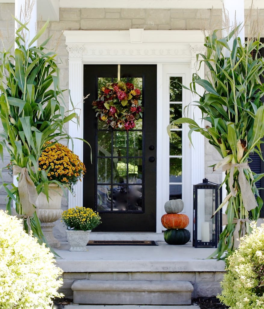Front Porch Fall Decorating Pictures  How to Decorate Your Porch For Fall