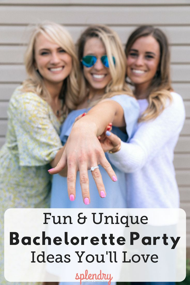 Fun Bachelorette Party Ideas  Fun and Unique Bachelorette Party Ideas