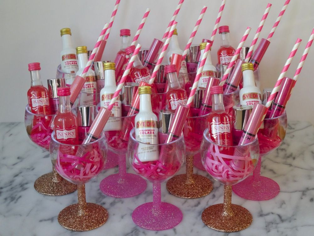 Fun Bachelorette Party Ideas  Fun and easy DIY Bachelorette Party Favors are up on the