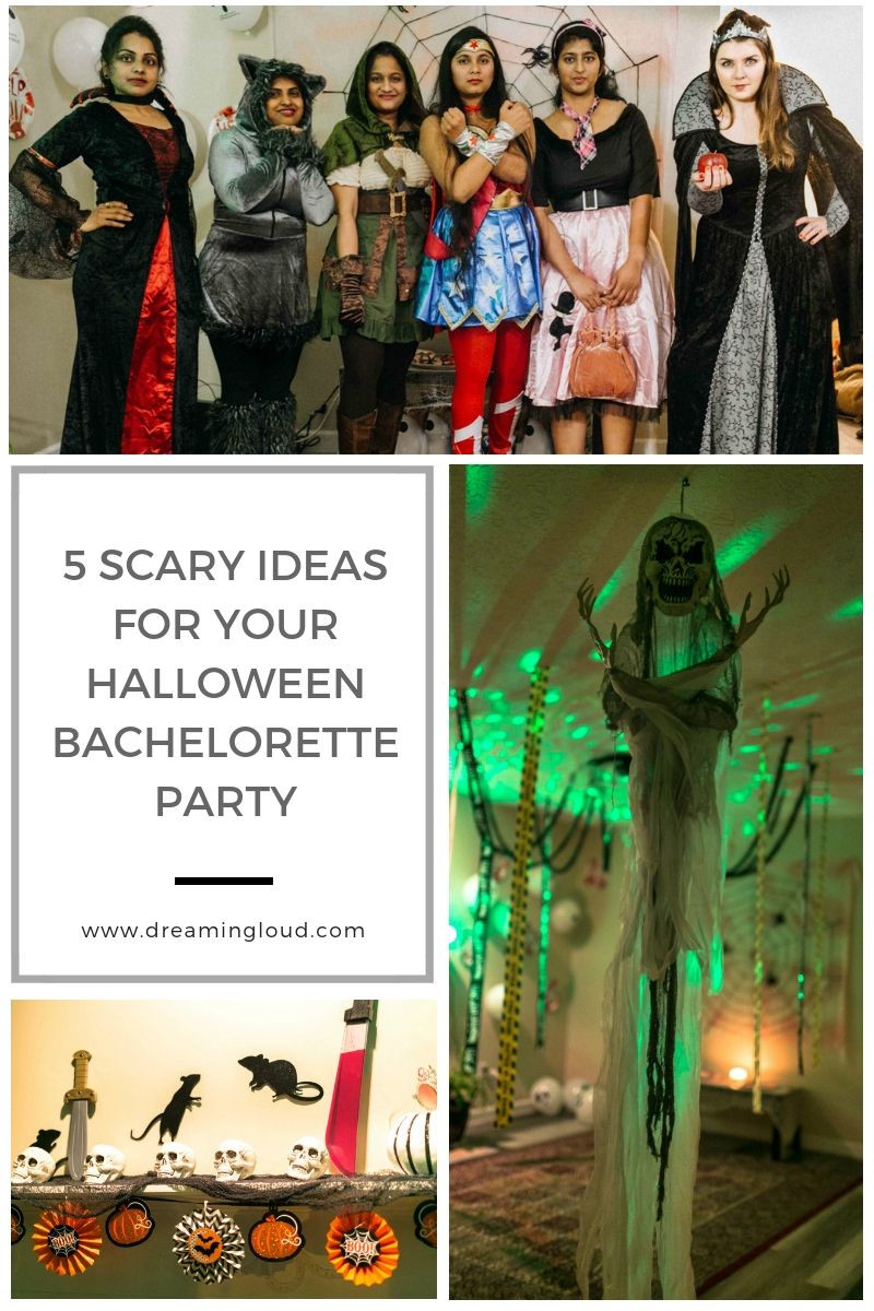 Fun Bachelorette Party Ideas  Top 5 Scary Fun Halloween Bachelorette Party Ideas